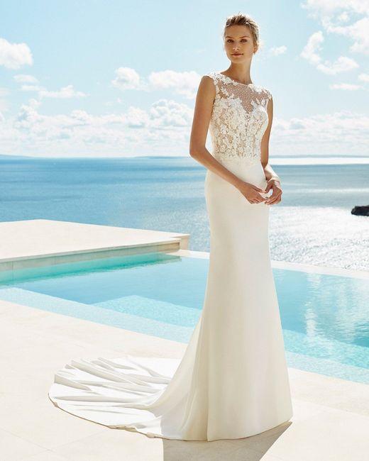 👗 Vestidos para una novia romántica ¡Corte Recto! 2