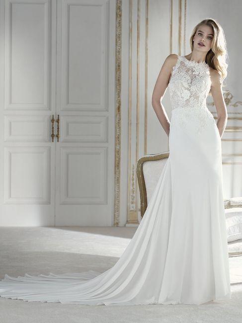 👗 Vestidos para una novia romántica ¡Corte Recto! 4