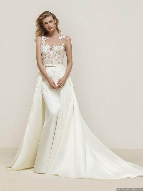 dilemas del vestido de novia: ¿con encaje o sin encaje?