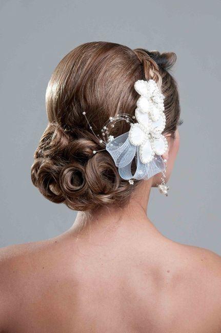 ¡Moños bajos para tu peinado de novia! 1