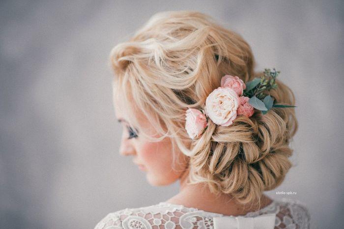 ¡Moños bajos para tu peinado de novia! 2