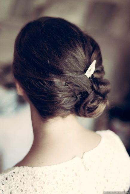 ¡Moños bajos para tu peinado de novia! 4