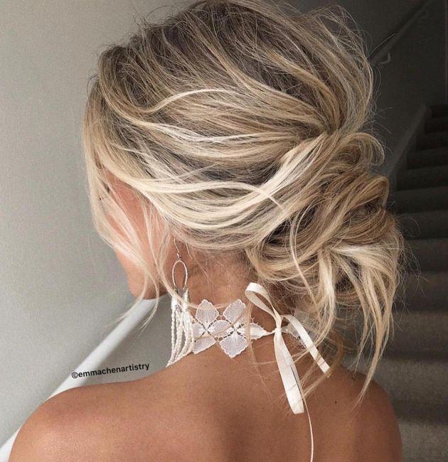 ¡Moños bajos para tu peinado de novia! 6