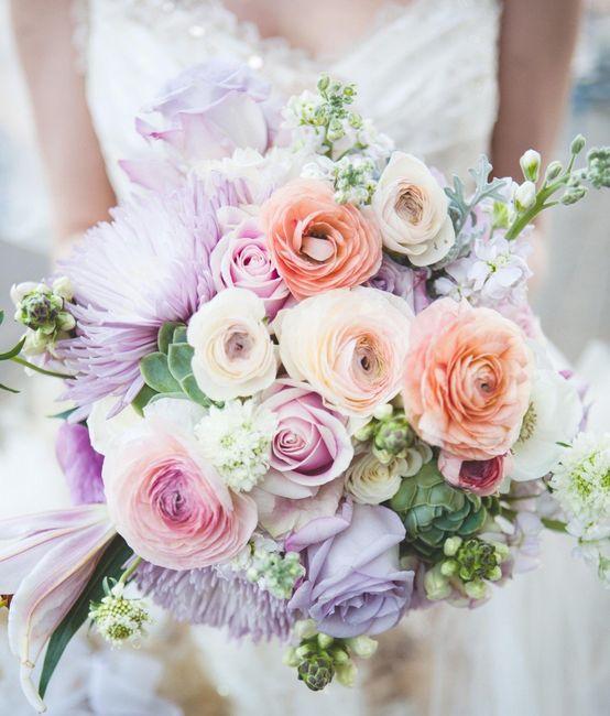 ¿Qué bouquet te gusta más? 👰 1