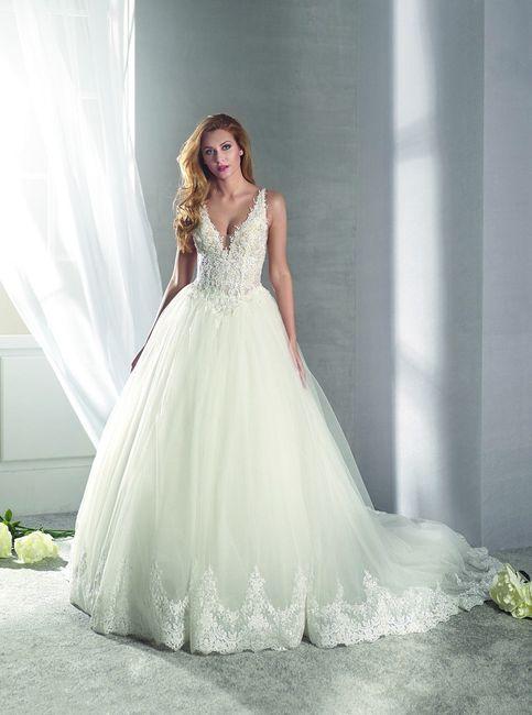 5 Vestidos de Novia tipo Princesa 3