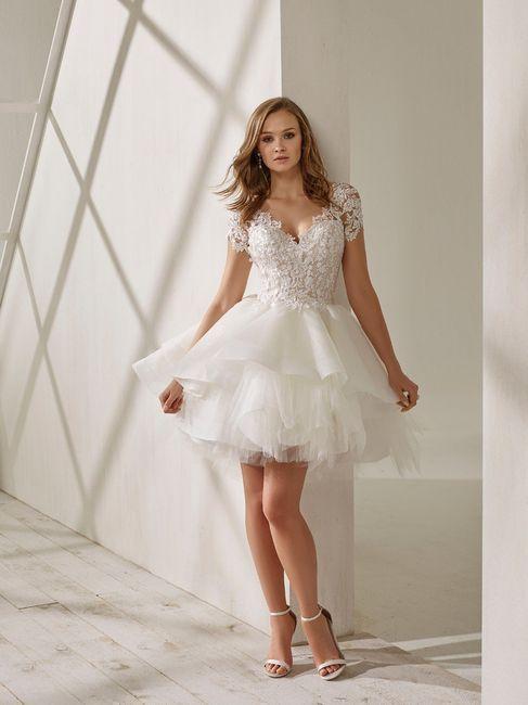 5 Vestidos de Novia de tipo Corto 4