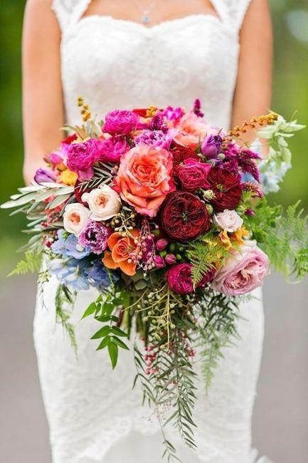 ¿Cuál ramo de novia te gusta más? 4