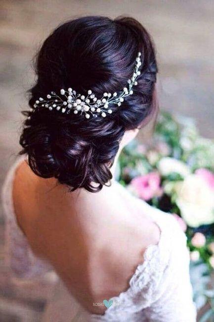 El peinado de novia ideal para ti es... 1