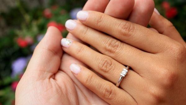 ¿En qué mano y en qué dedo tienes puesto tu anillo? 1