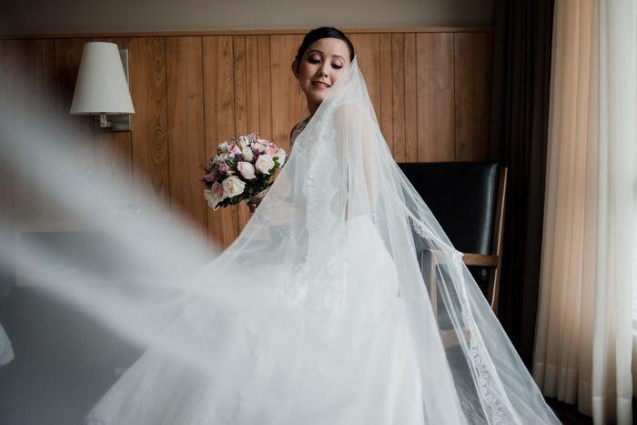 Wedding Combat ¡Este VELO me enamora! 1
