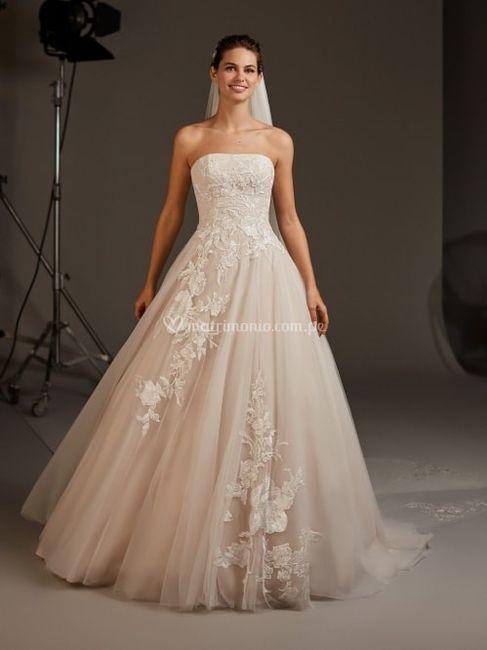 Vestido de novia ¿Strapless, tirantes o con mangas? 1