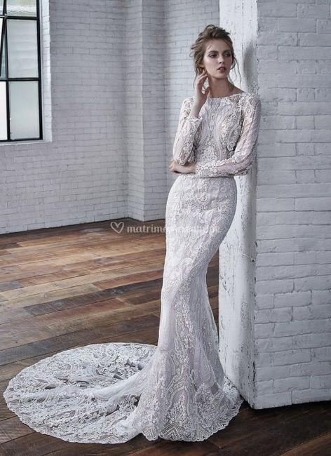 Vestido de novia ¿Strapless, tirantes o con mangas? 2