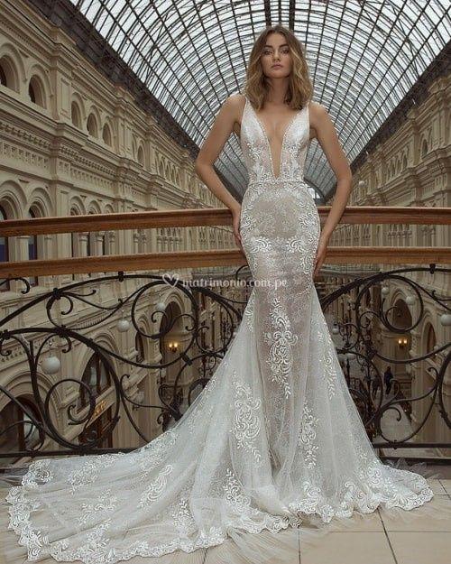 Vestido de novia ¿Strapless, tirantes o con mangas? 3