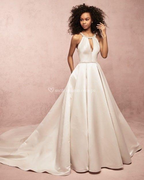 Vestido de novia ¿Con encaje o liso? 1