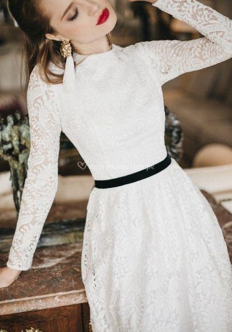 Vestido de novia ¿Con o sin cinturón? 1
