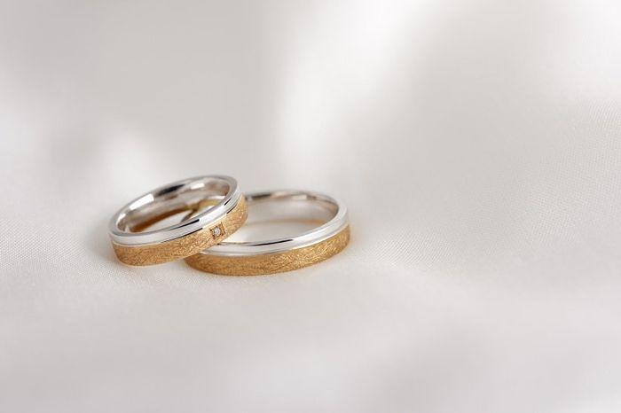 Estos aros de matrimonio  ¿LIKE 👍 o LOVE 💗? 1