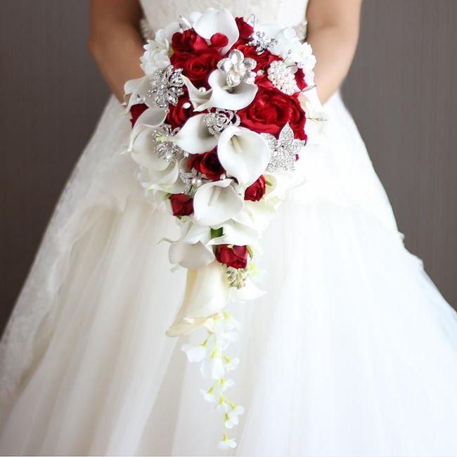Vistiendo a Adri: El ramo de novia 1