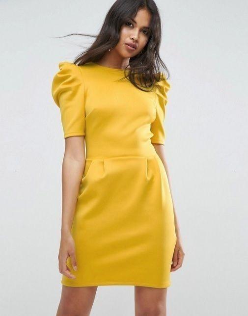 Vestido para el civil amarillo ¿Con cuál te quedas? 4