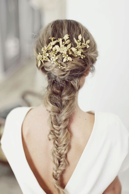 ¿Este peinado de novia merece un 0, 5 0 10? 1