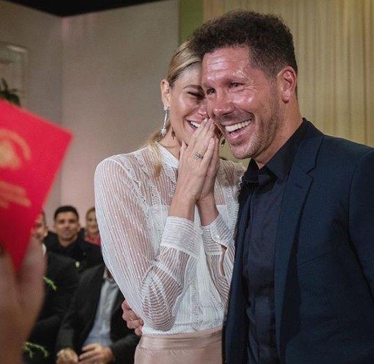 ¡El Cholo Simeone pasó a la fila de los casados! 2
