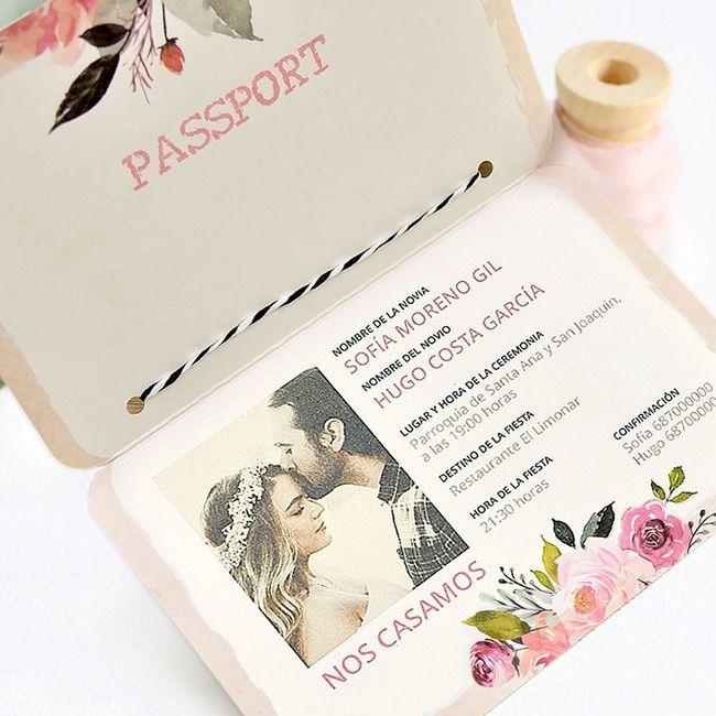 Invitaciones de matrimonio ¡Elige la tuya! 3
