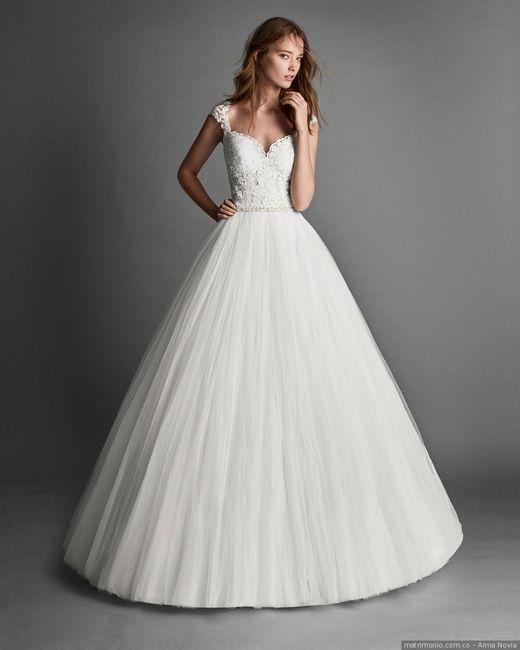 Vestido Evase Vs Vestido Princesa ¡VOTA por tu favorito! 1