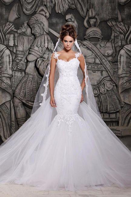 Vestido Sirena Vs Vestido Princesa ¡VOTA por tu favorito! 1