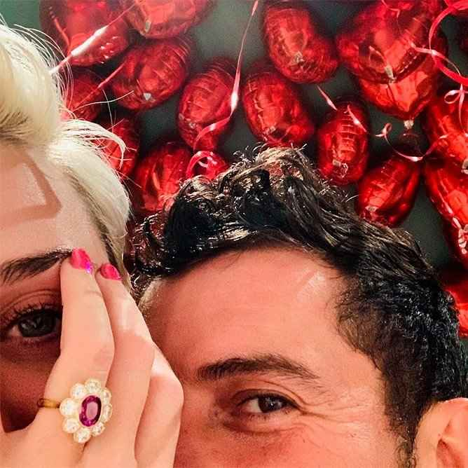 ¡Orlando Bloom y Katy Perry se comprometieron! 💍