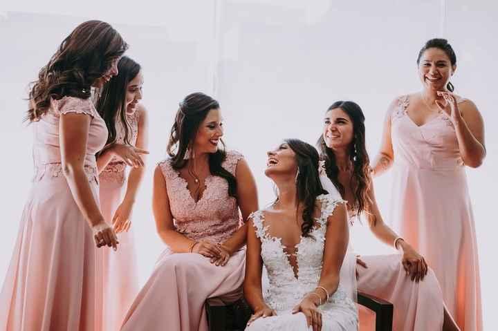damitas de la novia - ¿cuántas Deberían Ser? - 1