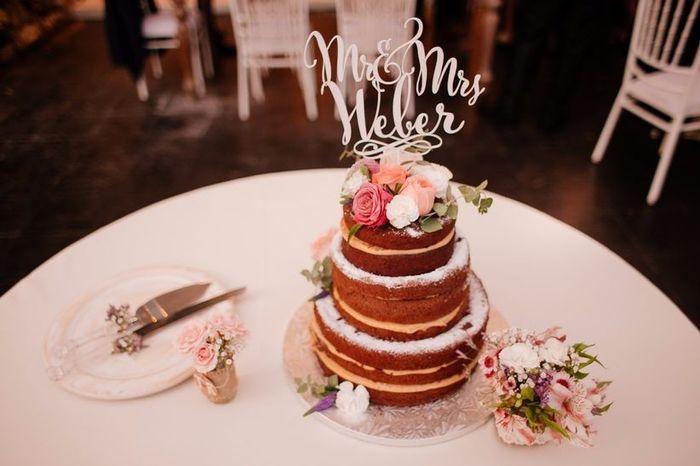 5 ideas para tus cake toppers con letras 8