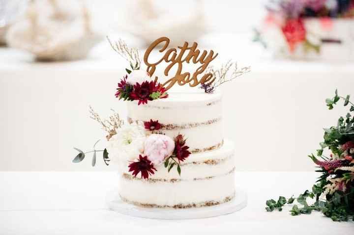 5 ideas para tus cake toppers con letras - 4