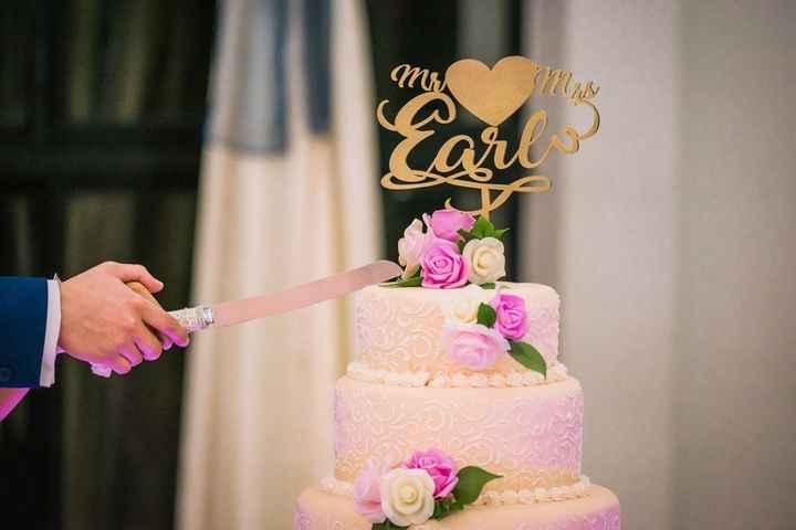 5 ideas para tus cake toppers con letras - 6