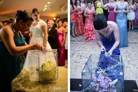 13 opciones para entregar ramo de novia 9