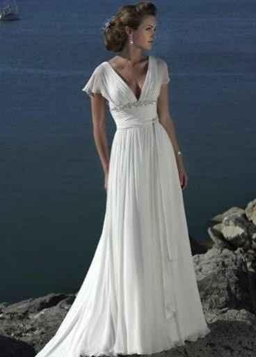 DAMITA ROMANA 6 (Es de novia por ser lanco,pero el modelito en otro color sería lindo)