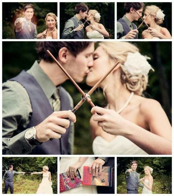 Quiero mi boda con un toque de harry potter - 1