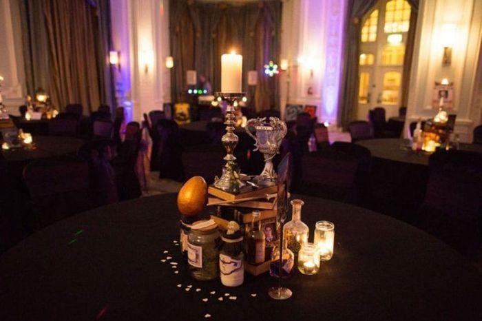 Quiero mi boda con un toque de harry potter - 2