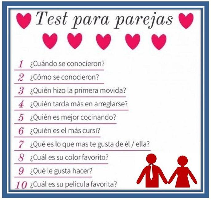 Test: Cuánto conoces a tu pareja