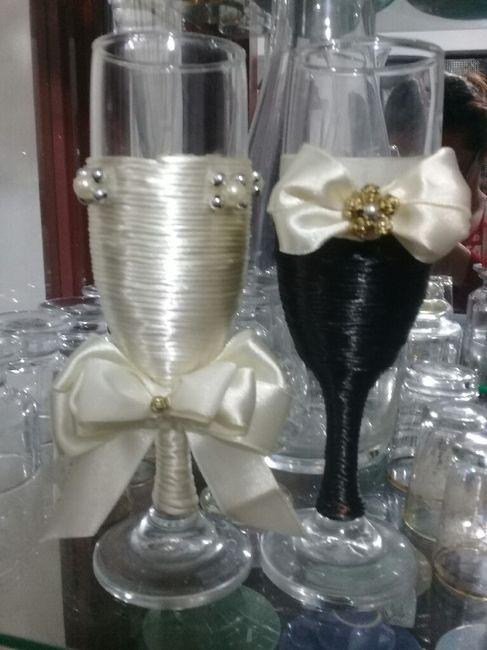 Copas para matrimonio 1