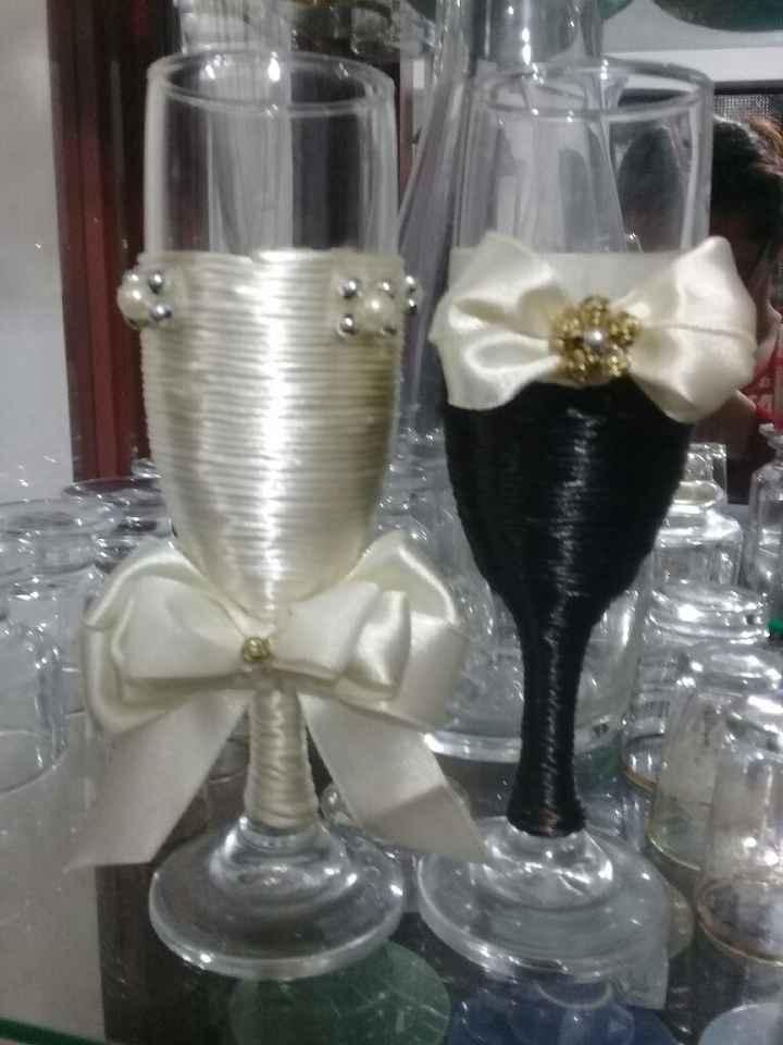 Copas para matrimonio - 1