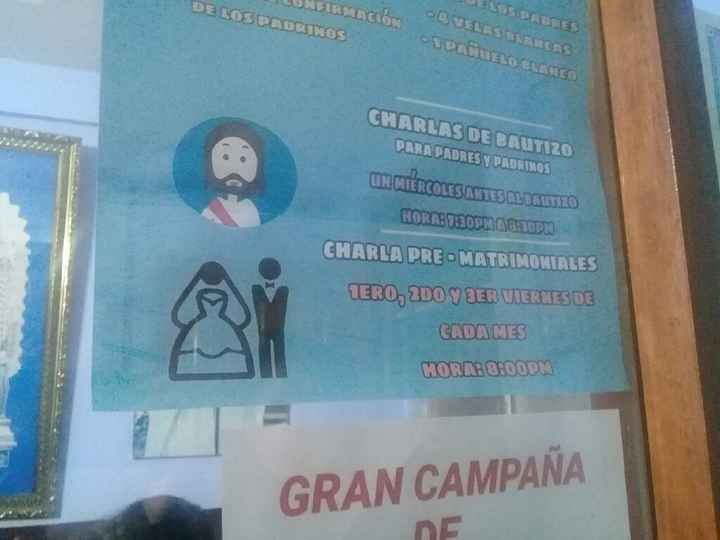 Charlas Pre matrimoniales - 1