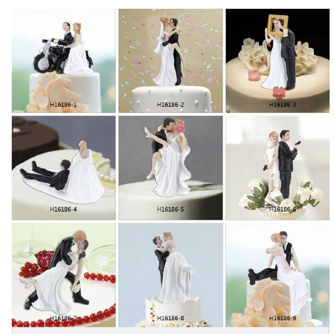 Muñecos de torta: ¿Divertido o de mal gusto? 📷 - 1
