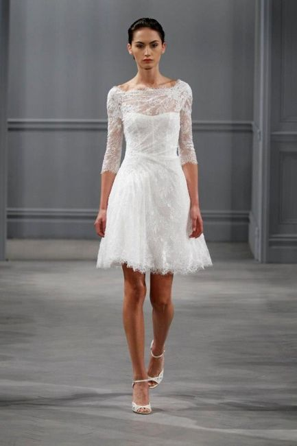 Vestidos de novia para civil de encaje