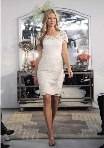 5 vestidos con encaje para tu boda civil - 3