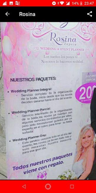 Busco organizadora de bodas 1