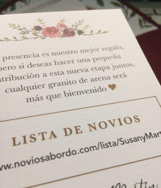 Susan, mis detalles del parte matrimonial 8