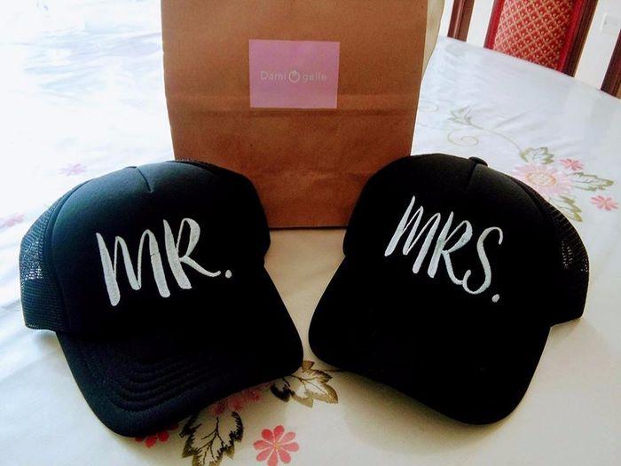 Gorras Mr. & Mrs.
