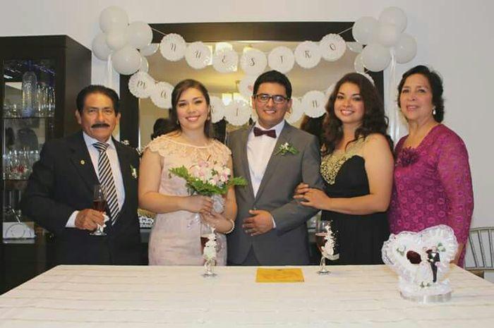 Algunas fotos de mi  boda Civil - 2