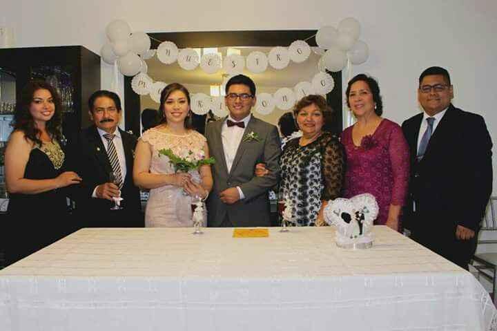 Algunas fotos de mi  boda Civil - 3