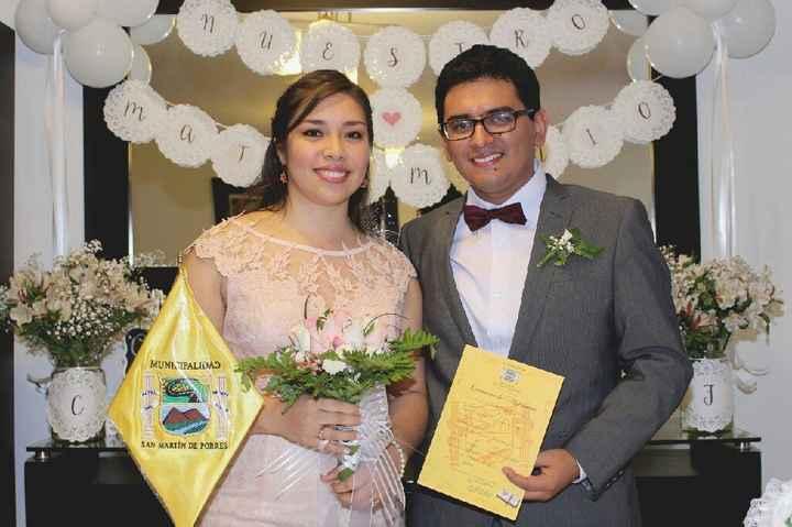 Algunas fotos de mi  boda Civil - 6