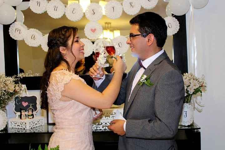 Algunas fotos de mi  boda Civil - 10